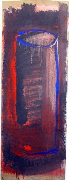 pintura de Jose Manuel Cotrina Secas de 1986