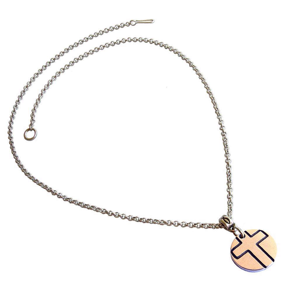 Colgante Cruz símbolos cadena